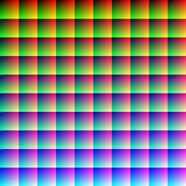 one million colors