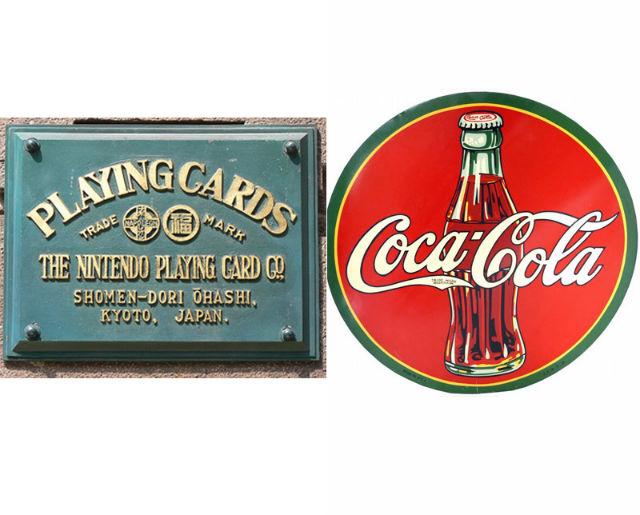 Nintendo and coca cola