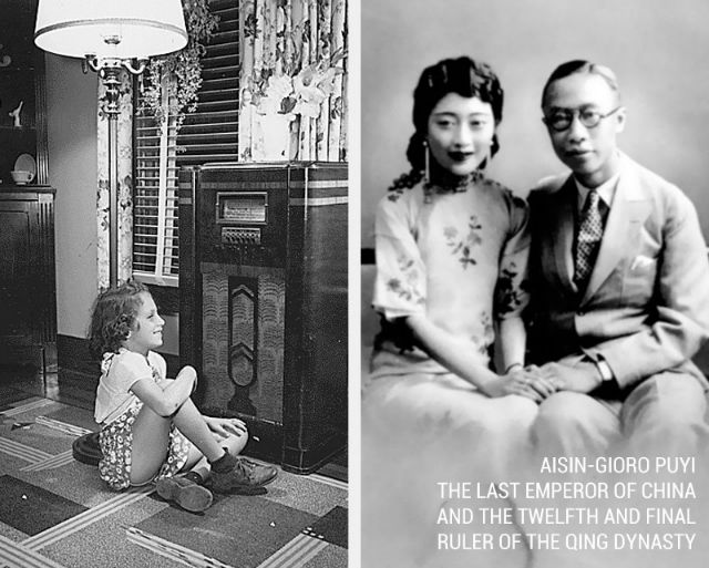 Chinese Empire ended and first commercial radio signal