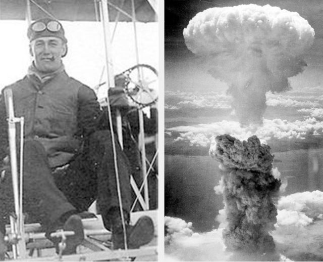 first airplane and first atomic bomb