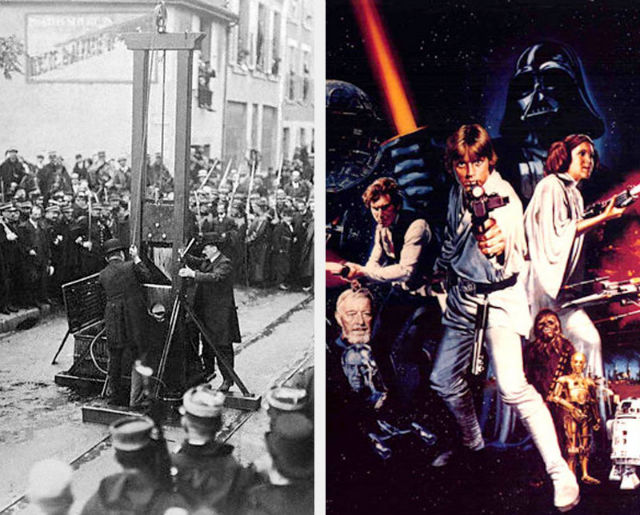 Guillotine and star wars