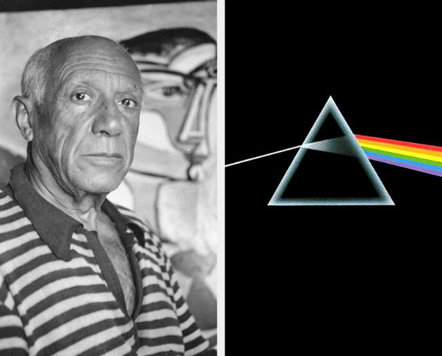 Pablo Picasso and the dark side of the moon