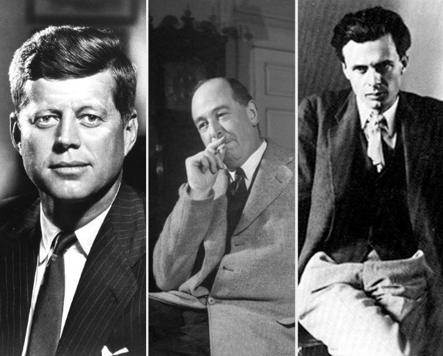 John F. Kennedy, C.S. Lewis, and Aldous Huxley
