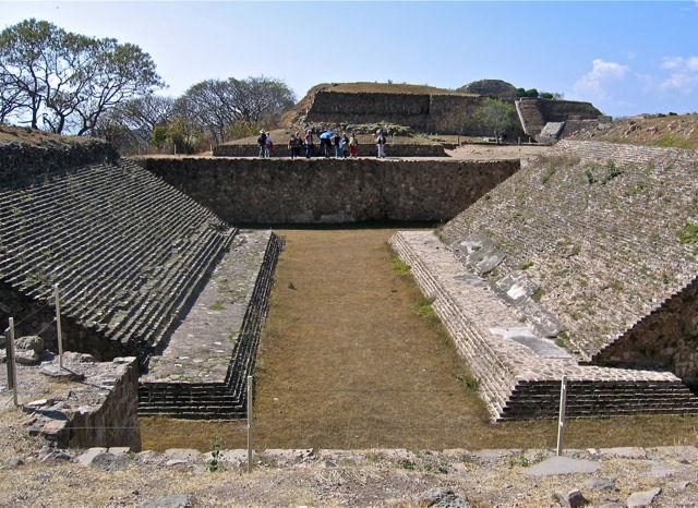 Ballcourt at Monte Albán