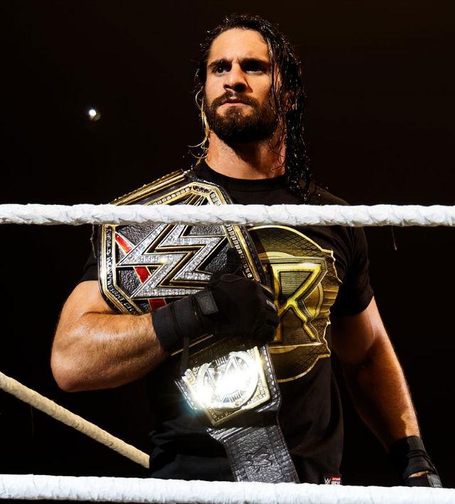 Current champion Seth Rollins