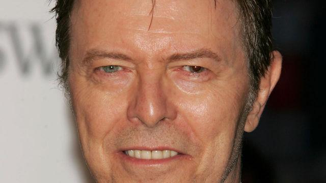 David Bowie eyes color