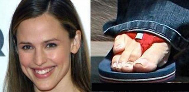 Jennifer Garner Pinky Toe