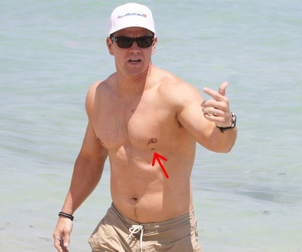 Mark Wahlberg 3rd nipple
