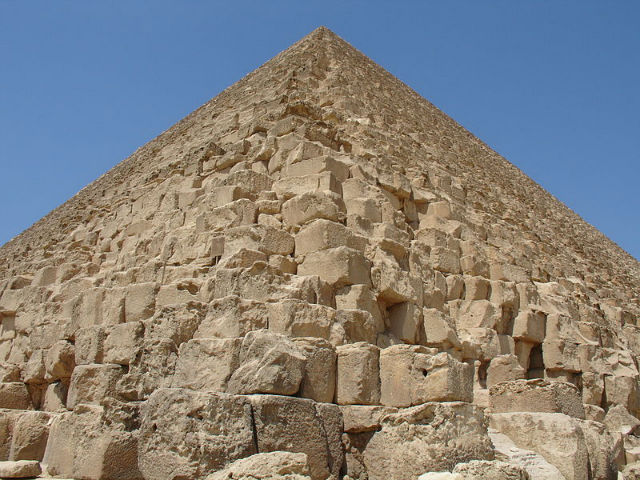 2 Million stone blocks use in construction of the great pyramid of giza