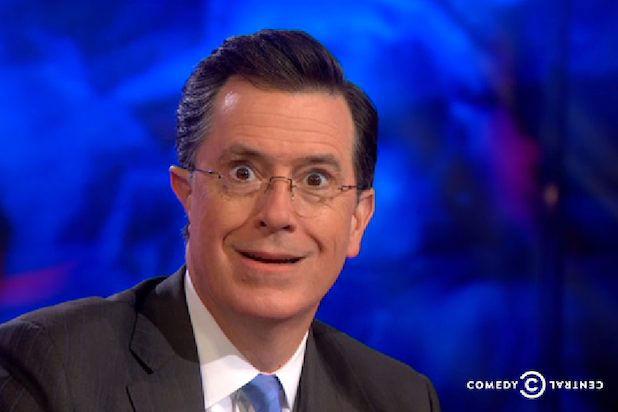 Stephen Colbert - Ear defect