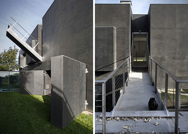 This Zombie-Proof House Is Breathtaking (And Life-Saving)! on zombie shelter plans, zombie house, zombie survival bunker blueprints, hurricane proof home designs, earthquake proof home designs, vintage home designs,