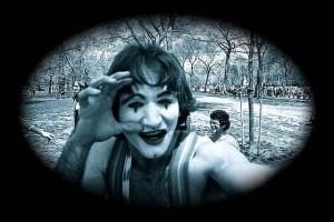 robin williams mimes
