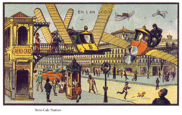 L'An 2000: series of photos from 19th century which predicted year 2000