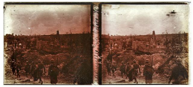 3D Image from world war 1