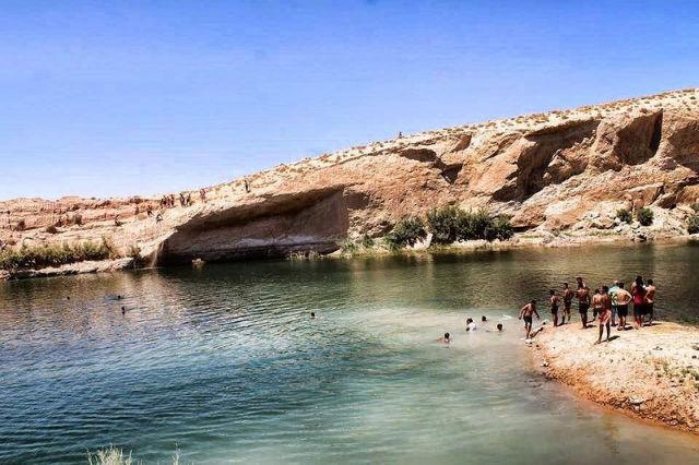 Mysterious Gafsa lake