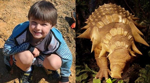 4 Year-old Boy Discovers 100 Million Year-old Dinosaur Bone