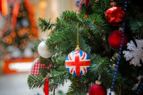 British 'Happy Christmas'