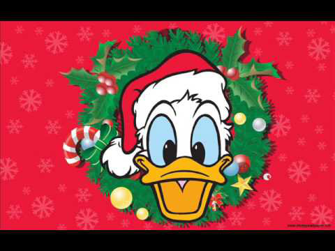 Donald Duck on christmas sweden