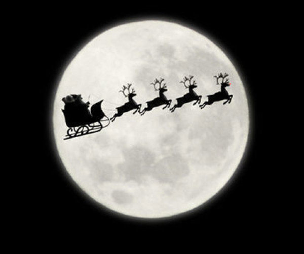 Full Moon on Christmas Day
