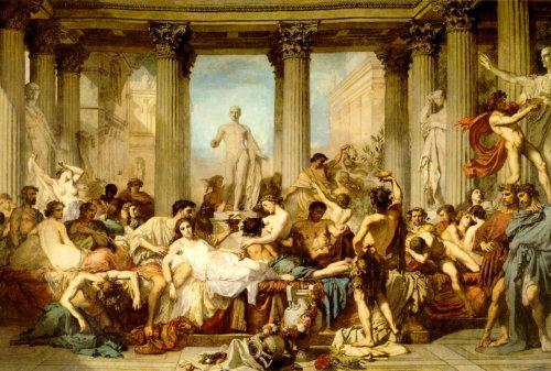 Roman pagans Christmas