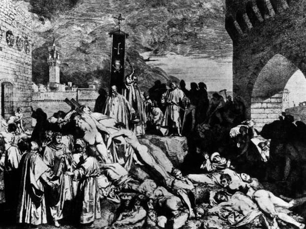 The Black Plague of England