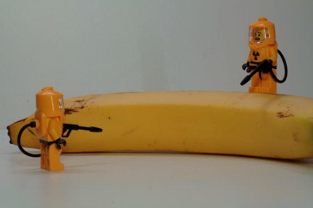 Radiactive banana