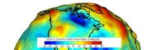 Hudson Bay - Gravity anomaly
