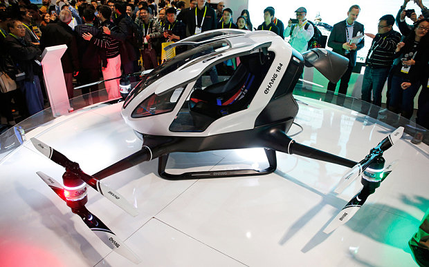 The EHang 184 autonomous aerial vehicle