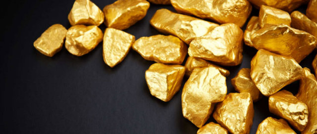 Gold in Earth's core