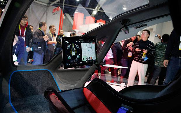passenger drone prototype