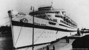 Wilhelm Gustloff while it was at the dock