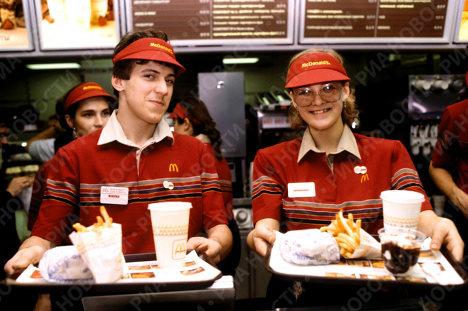 First McDonald's In Russia Trained Russian Workers On How To Smile