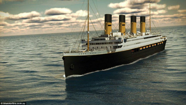 A designed model of Titanic II