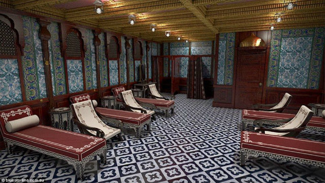 Turkish bath in Titanic II