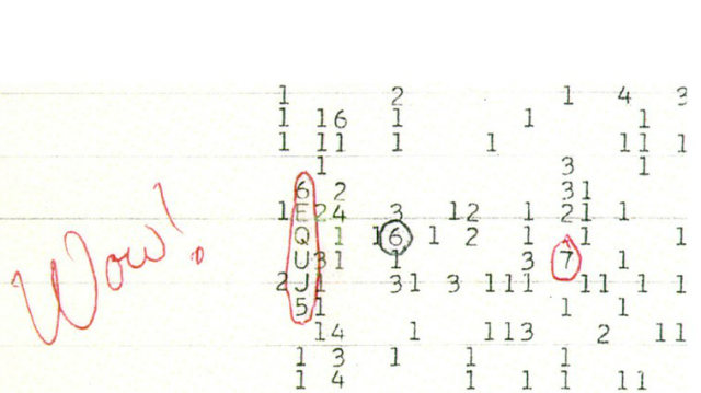 Unexplained Natural Phenomenon_Bizarre Events_The Wow Signal