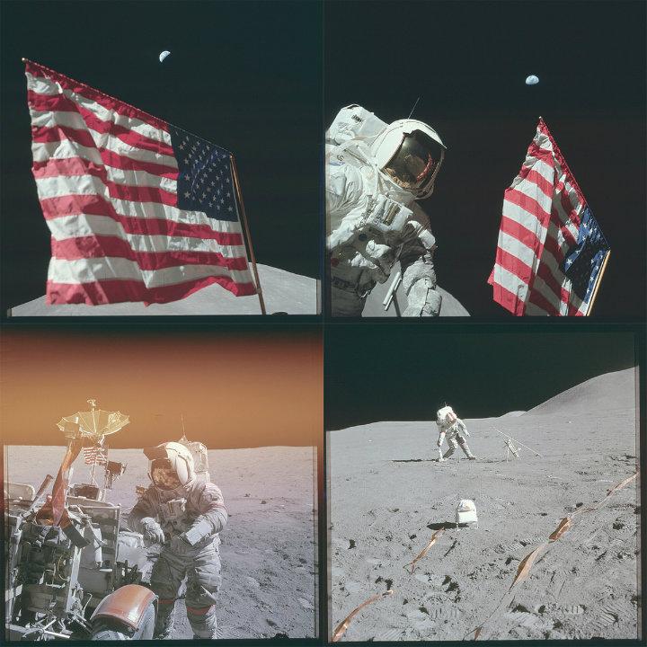 Hoisting the American Flag