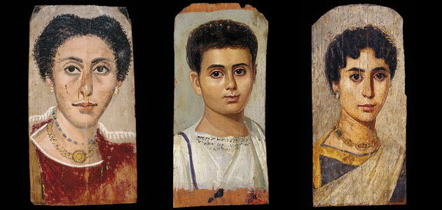 Facts About Mummies, Fayum Portraits