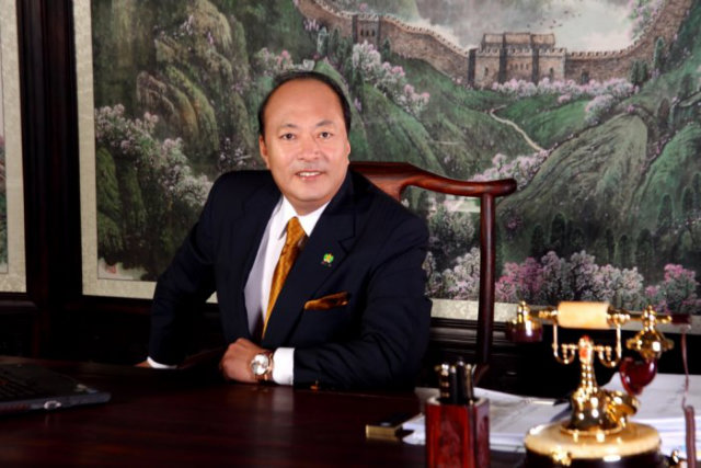Chinese billionaire Li Jinyuan