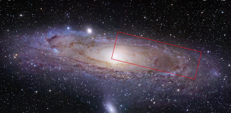 Picture of Andromeda Galaxy