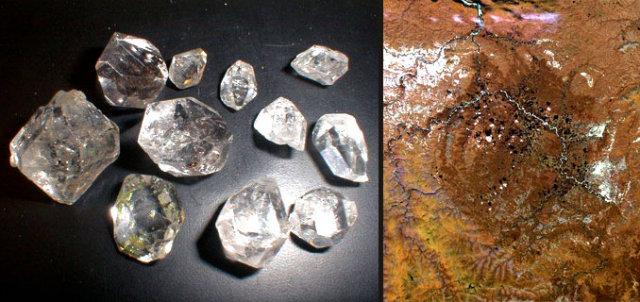 Siberia Suspected To Have Diamonds Worth $1 quadrillion Under A Crater