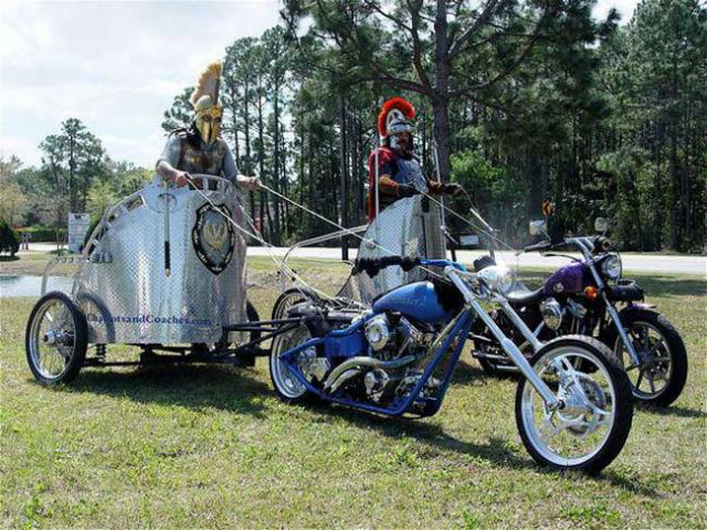 Motorcycle Charioteer Today