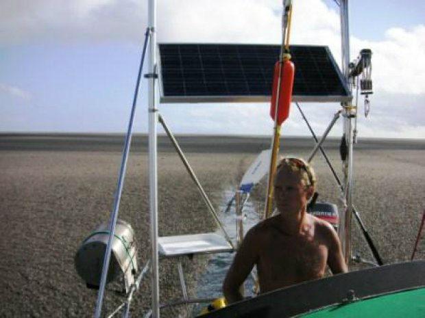 Fransson on board Maiken