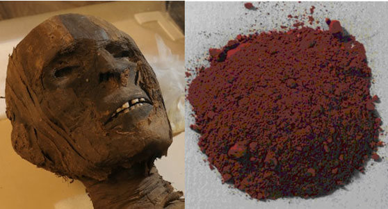 Facts About Mummies, Mummy Brown