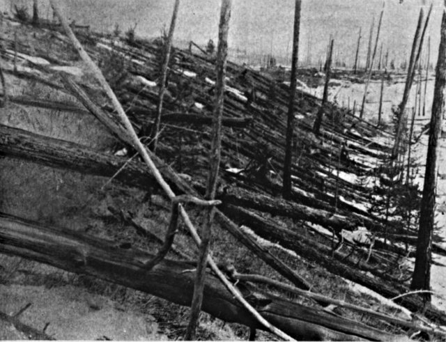 Unexplained Natural Phenomenon_Bizarre Events_Tunguska Event