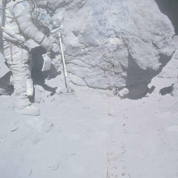 Apollos lunar mission photos