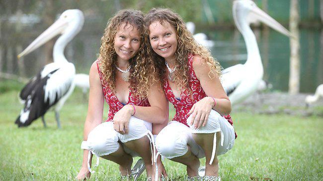 Bridgette and Paula Powers