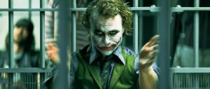 Heath Ledger- The Joker clapping scene in The Dark Knight