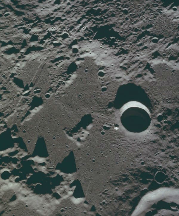 Apollos lunar mission photos
