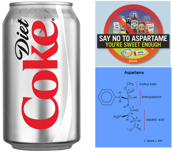 Aspartame in soda is linked with depression, insomnia and other neurological problems