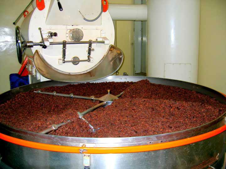 Cocoa Bean Roasting